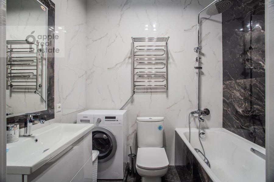 Санузел в 2-комнатной квартире по адресу Ленинградский пр-кт 36с37