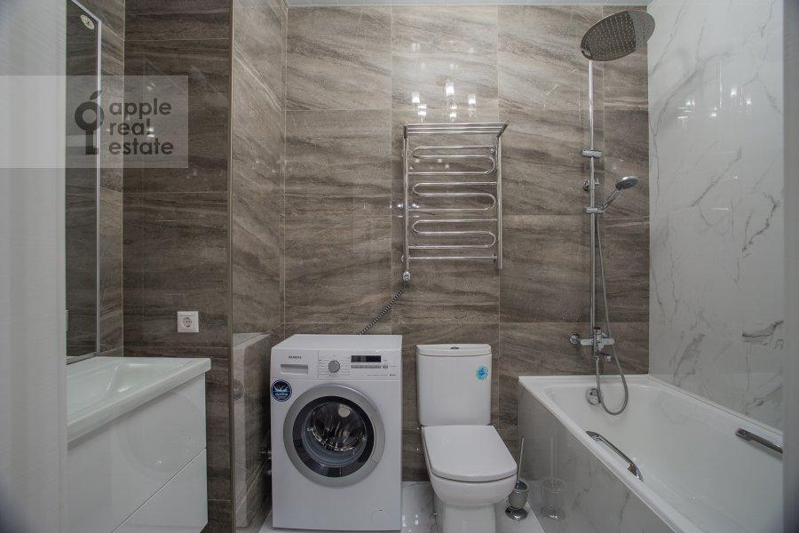 Bathroom of the 2-room apartment at Leningradskiy pr-kt 36s38