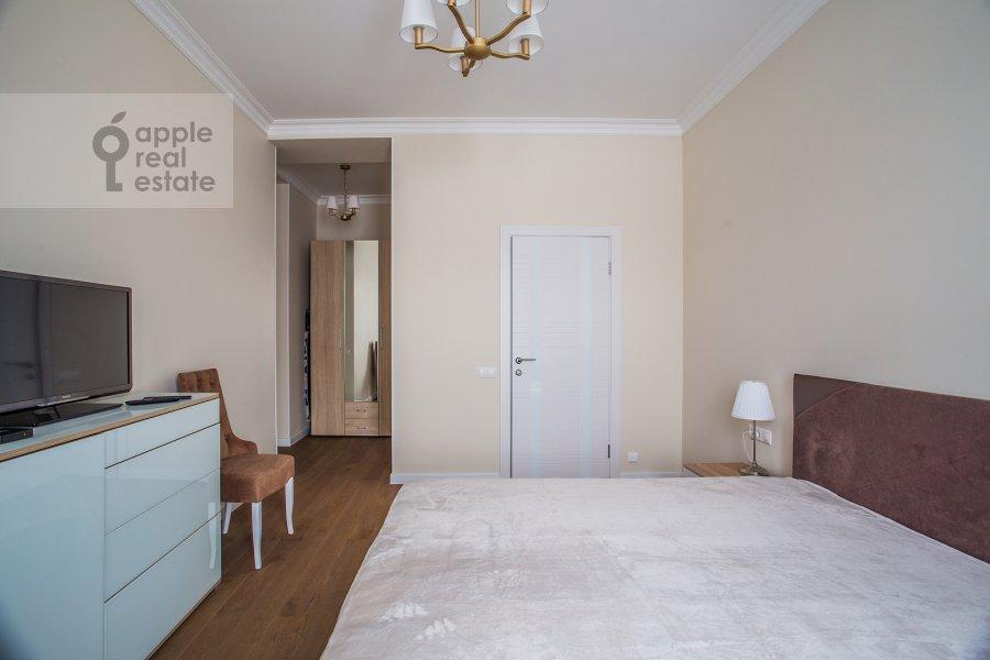 Bedroom of the 2-room apartment at Leningradskiy pr-kt 36s38