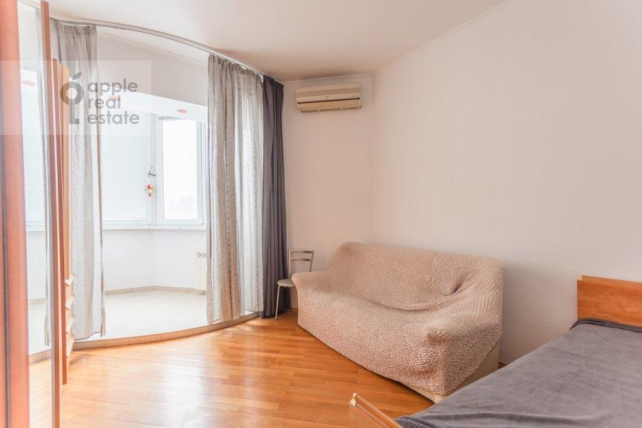 Спальня в 2-комнатной квартире по адресу Наставнический переулок 6