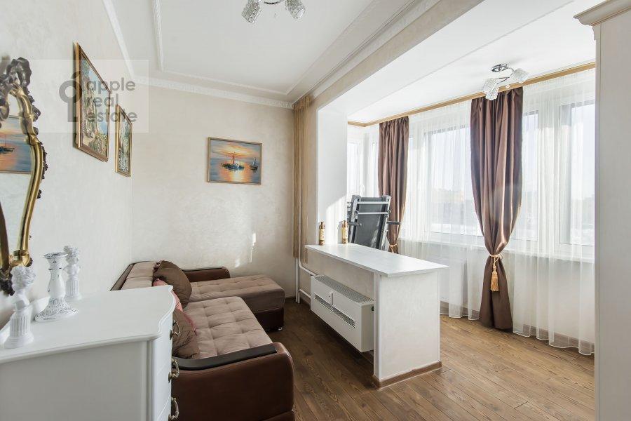Children's room / Cabinet of the 3-room apartment at Avtozavodskaya ulitsa 23Bk2
