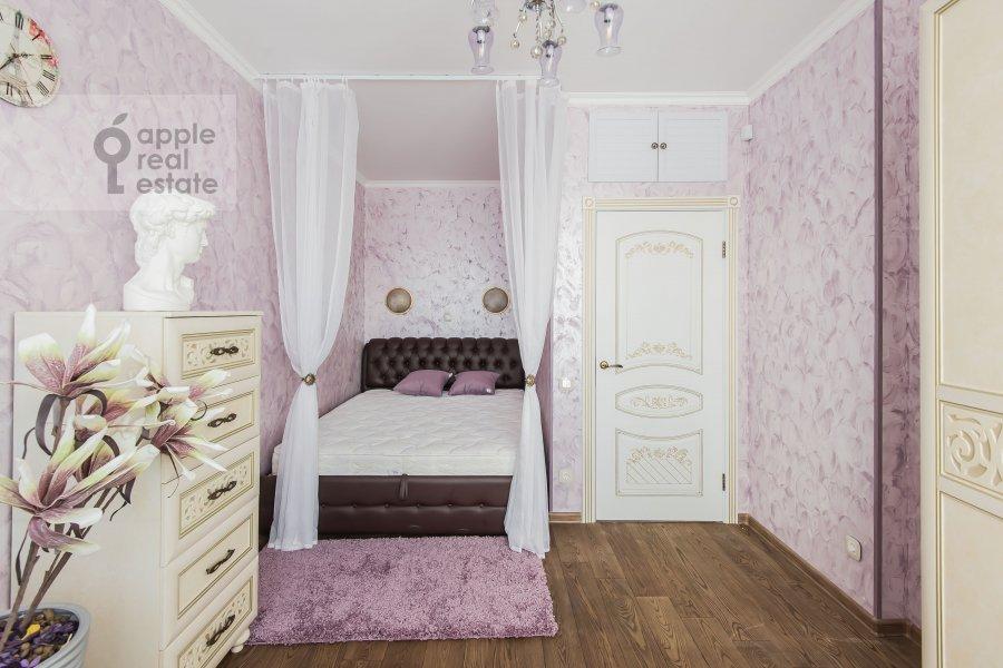 Bedroom of the 3-room apartment at Avtozavodskaya ulitsa 23Bk2