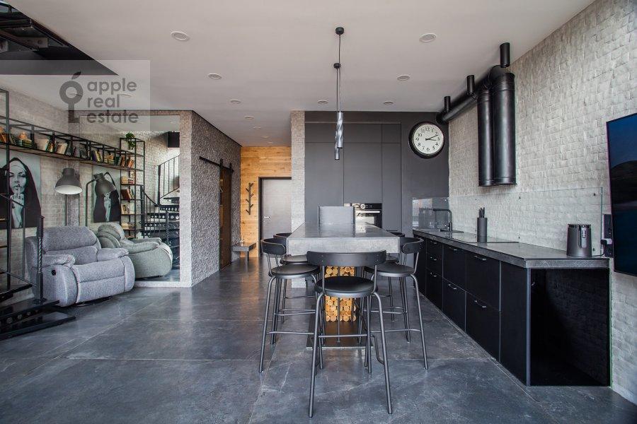 Kitchen of the studio apartment at 2-y Paveletskiy proezd 5S1