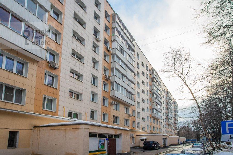 Photo of the house of the 2-room apartment at Akademika Pavlova 21k1