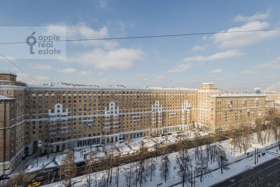 Вид из окна в 3-комнатной квартире по адресу Автозаводская ул 5