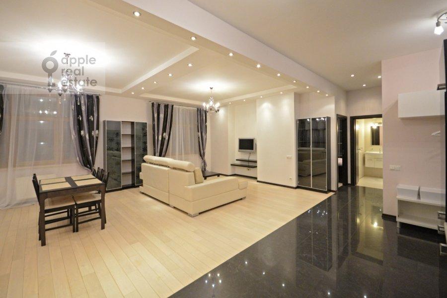 Гостиная в 2-комнатной квартире по адресу Ломоносовский проспект 25к2