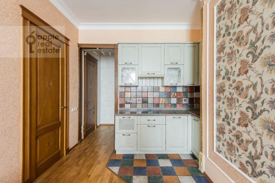 Kitchen of the 2-room apartment at Aviatsionnaya ulitsa 77k2
