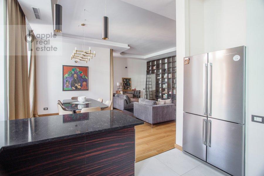 Kitchen of the 4-room apartment at Sretenka 26/1
