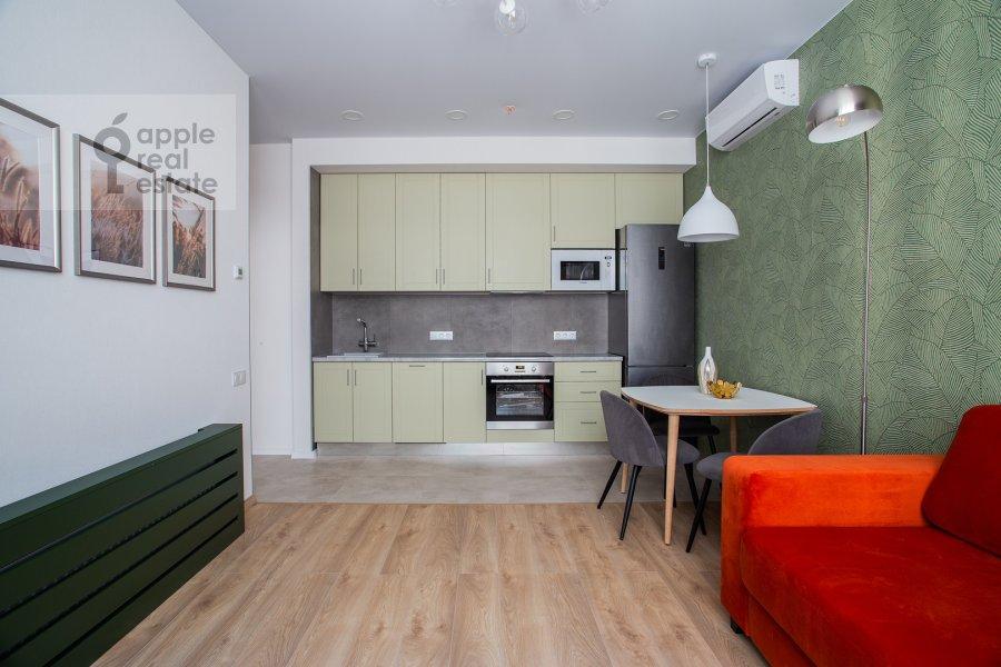 Кухня в 3-комнатной квартире по адресу Докучаев переулок 2с3
