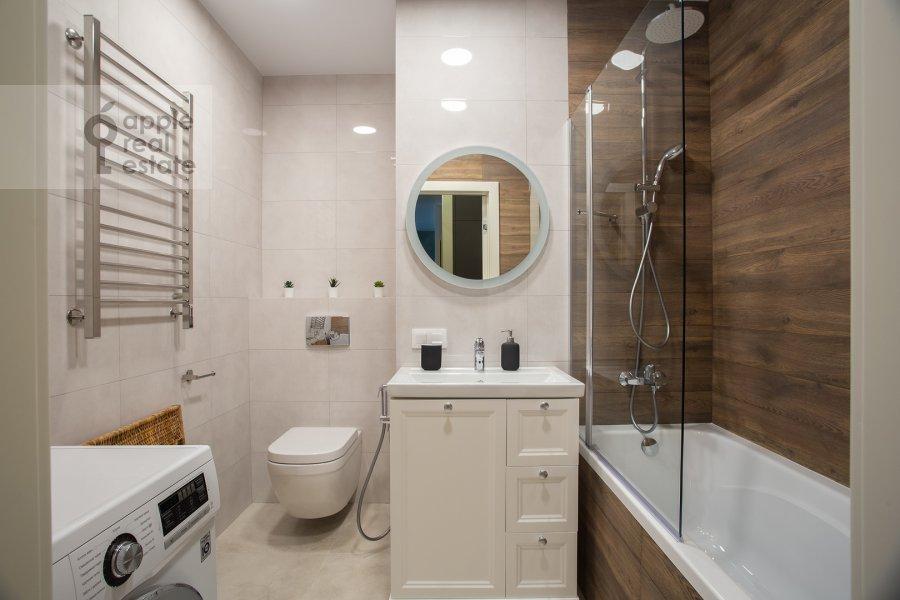 Санузел в 3-комнатной квартире по адресу Докучаев переулок 2с3