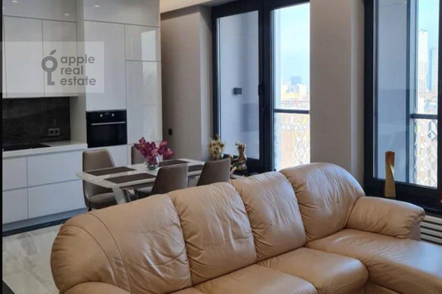 Гостиная в 2-комнатной квартире по адресу Василисы Кожиной 13