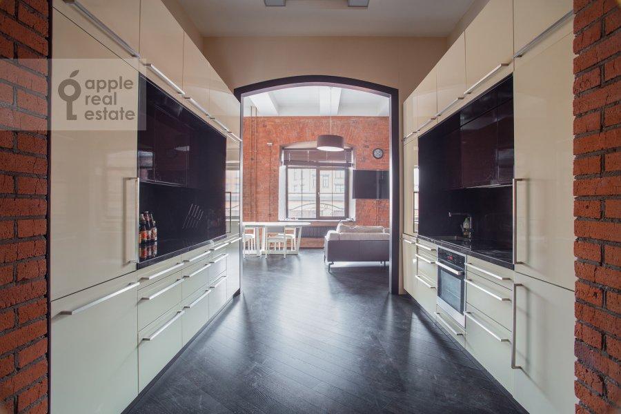 Kitchen of the 3-room apartment at Varshavskoe shosse 9s28