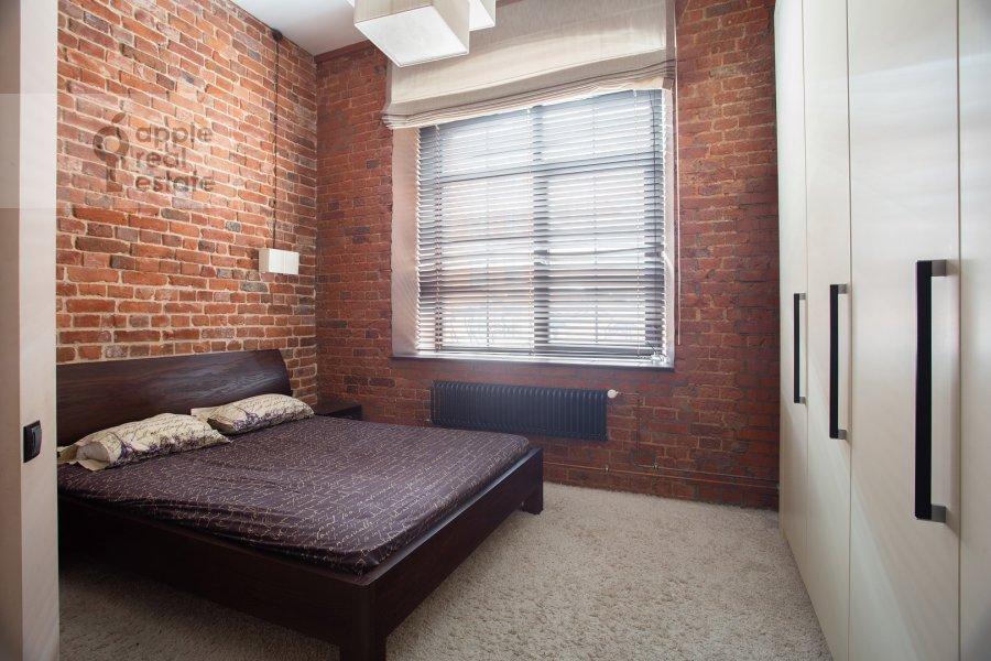 Bedroom of the 3-room apartment at Varshavskoe shosse 9s28