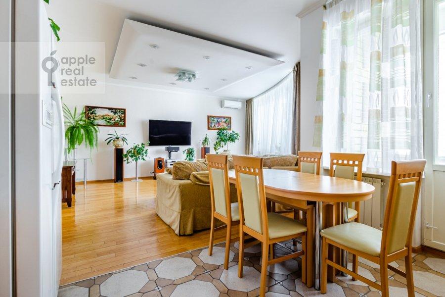 Kitchen of the 3-room apartment at Osennyaya ulitsa 25K1