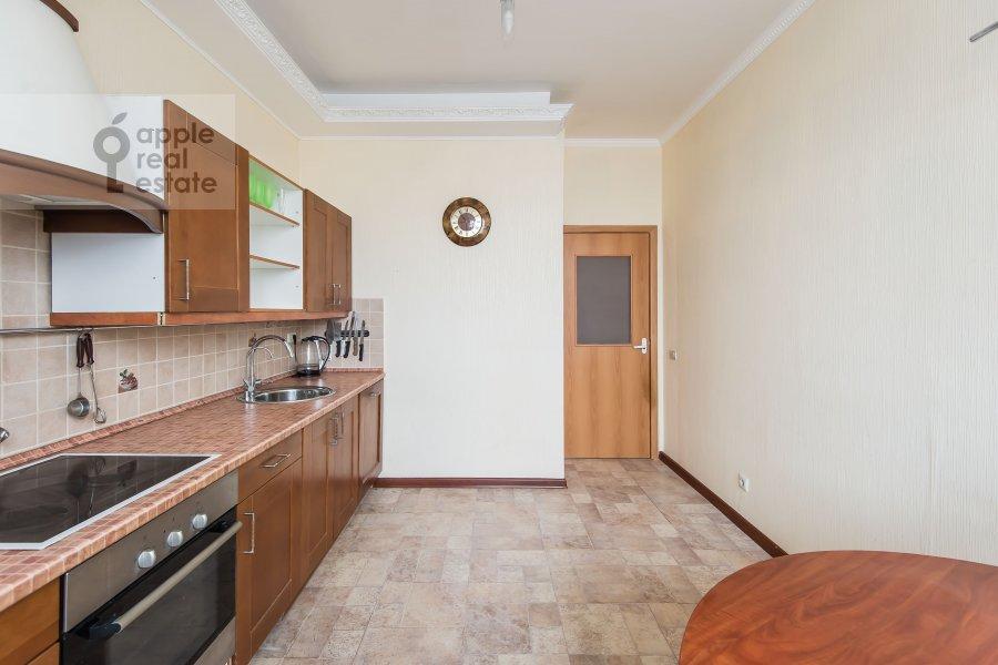 Kitchen of the 3-room apartment at 3-ya Filevskaya ulitsa 6k2