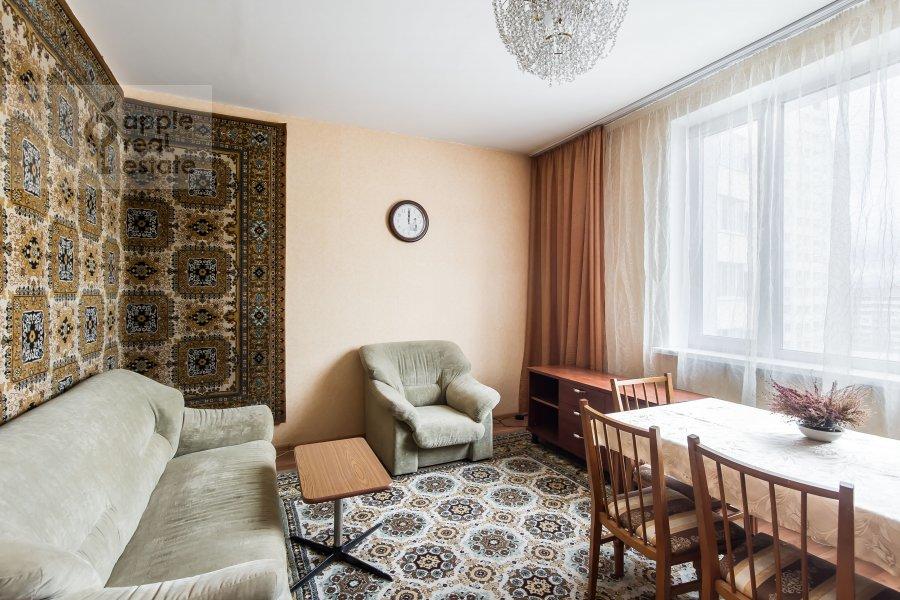 Living room of the 3-room apartment at 3-ya Filevskaya ulitsa 6k2