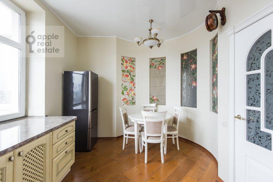 Kitchen of the 2-room apartment at Marshala Sokolovskogo 5