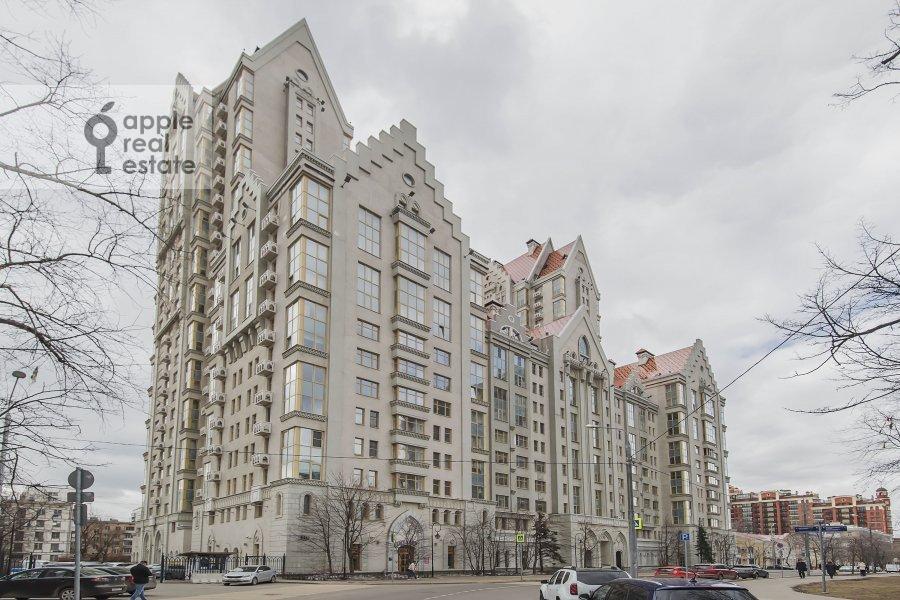 Photo of the house of the 2-room apartment at Marshala Sokolovskogo 5