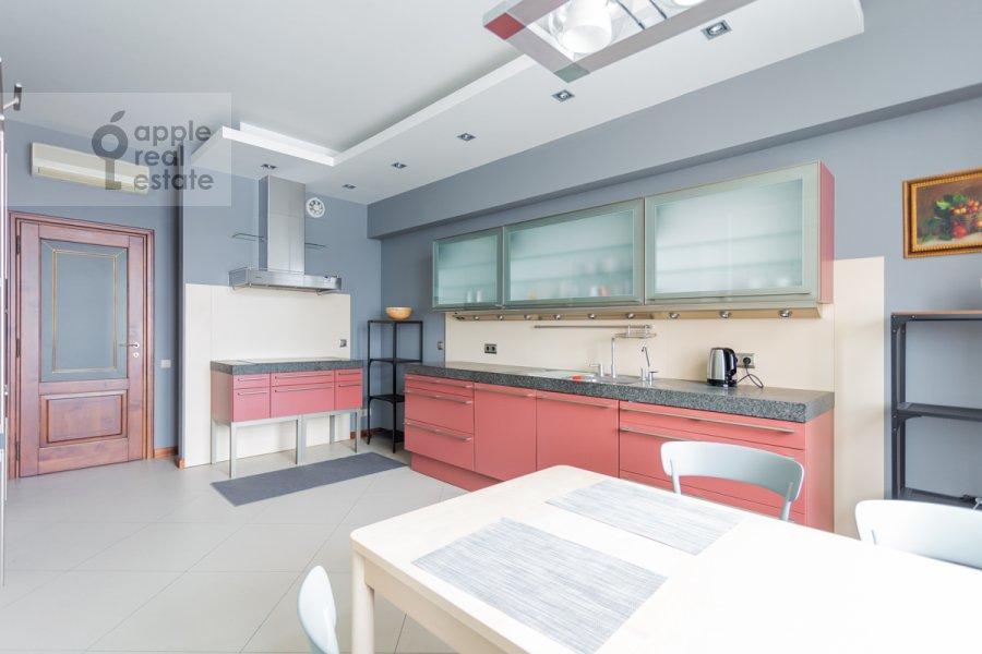 Kitchen of the 4-room apartment at Leninskiy prospekt 98K1