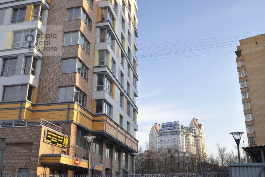 Вид из окна в 3-комнатной квартире по адресу Маршала Конева 14