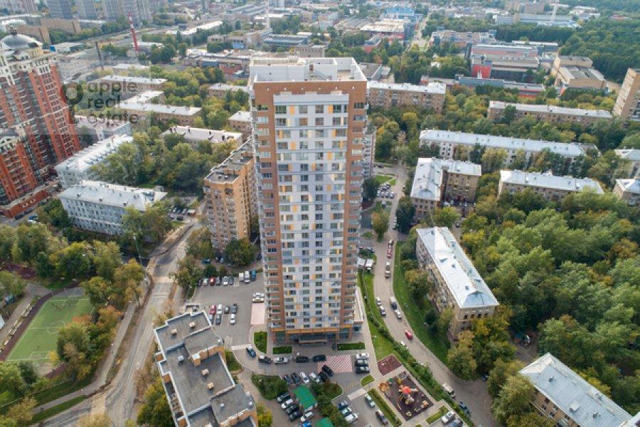 Photo of the house of the 3-room apartment at Marshala Koneva 14