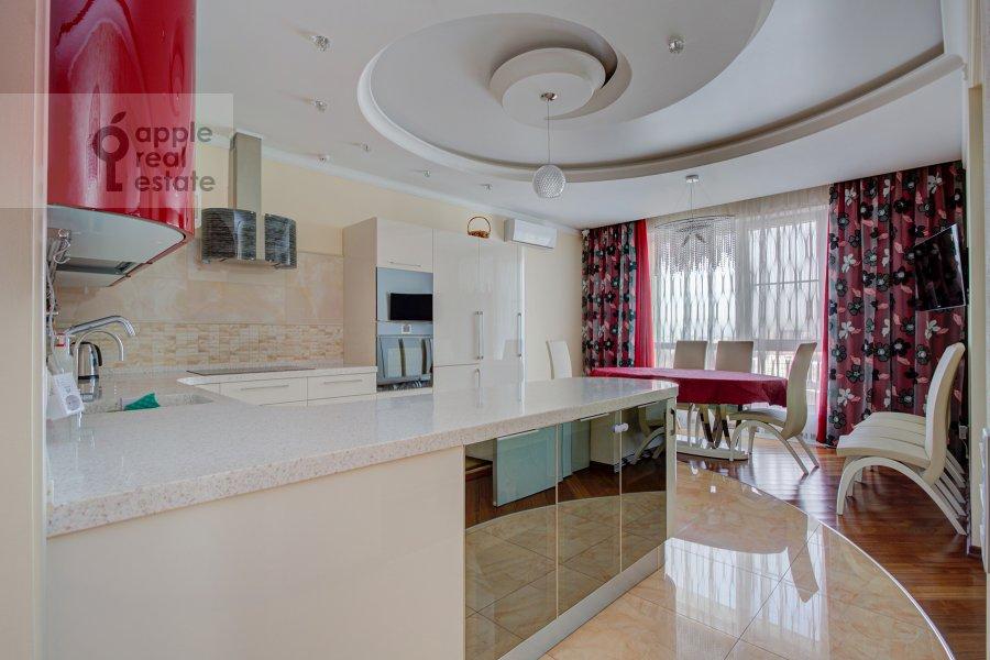 Kitchen of the 3-room apartment at Marshala Koneva 14