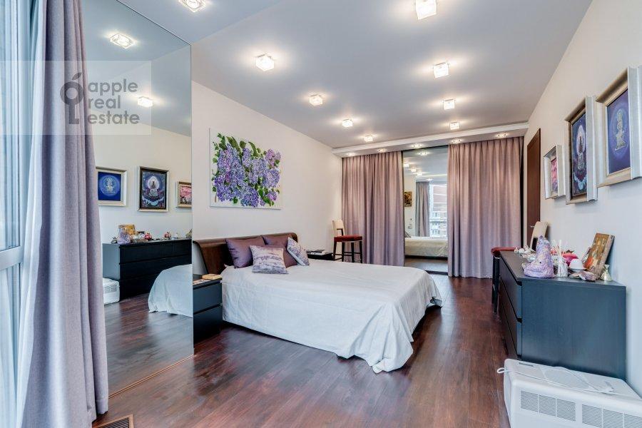Bedroom of the 2-room apartment at Bol'shaya Filevskaya ulitsa 16k1