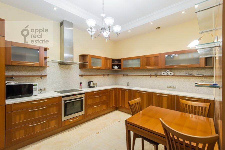 Кухня в 3-комнатной квартире по адресу Ленинский проспект 92к1