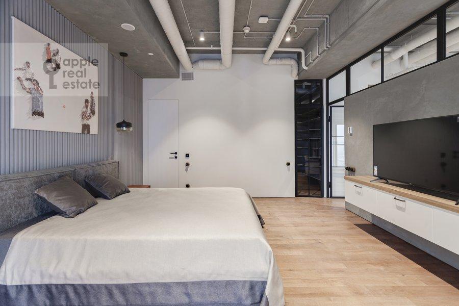 Спальня в 2-комнатной квартире по адресу 1-й Красногвардейский проезд 15