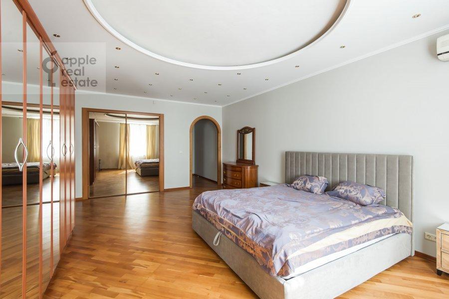 Спальня в 3-комнатной квартире по адресу Минская улица 1А