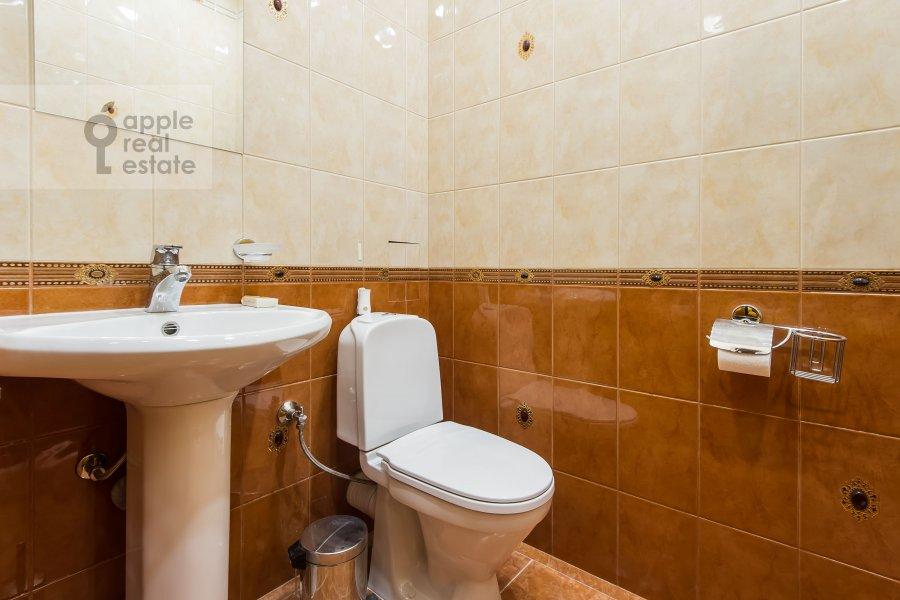 Санузел в 3-комнатной квартире по адресу Минская улица 1А
