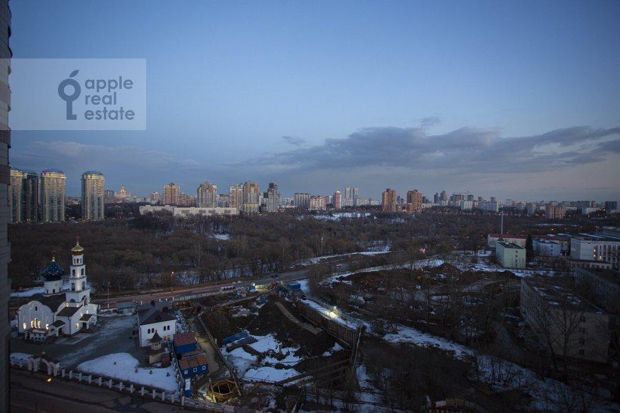 Вид из окна в 3-комнатной квартире по адресу Давыдковская улица 16