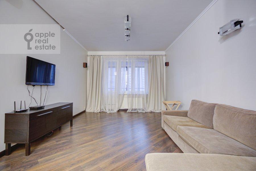 Гостиная в 3-комнатной квартире по адресу Давыдковская улица 16