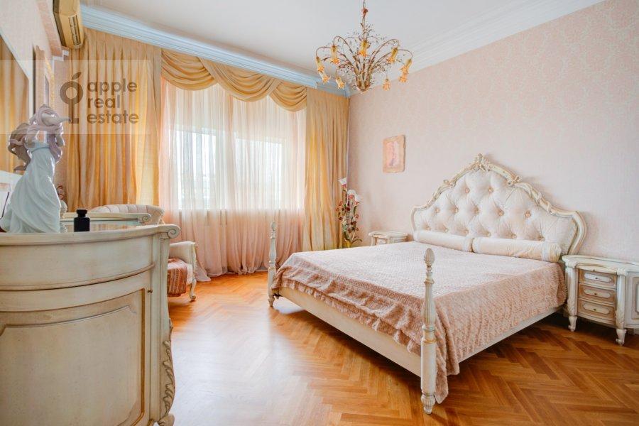 Спальня в 2-комнатной квартире по адресу Смоленский бульвар 3-5с1а