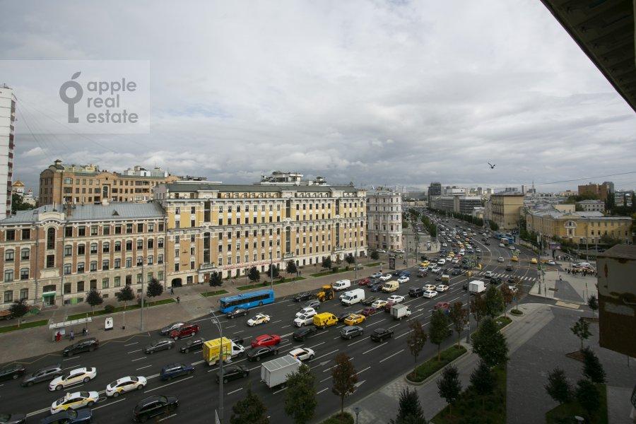 Вид из окна в 2-комнатной квартире по адресу Смоленский бульвар 3-5с1а