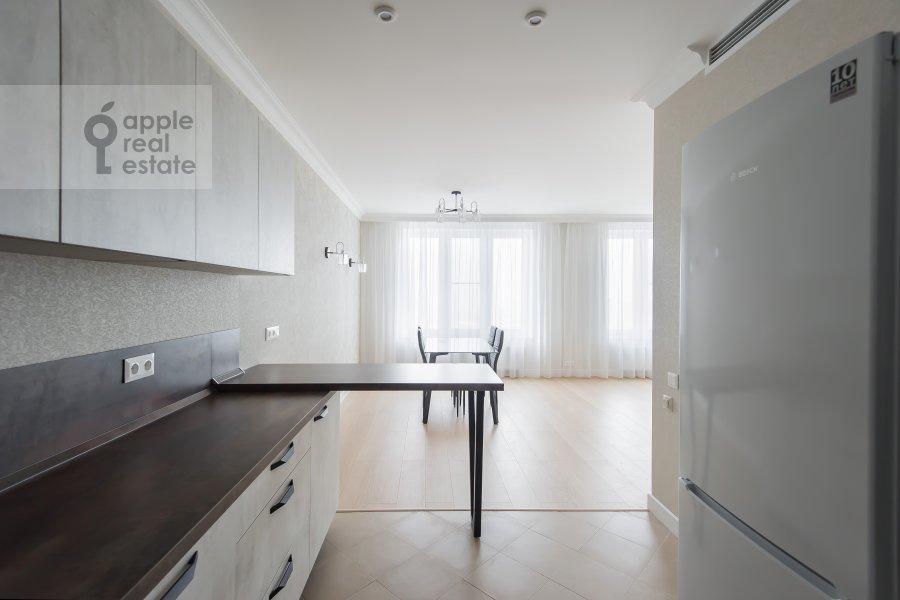 Kitchen of the 4-room apartment at Leninskiy prospekt 95B