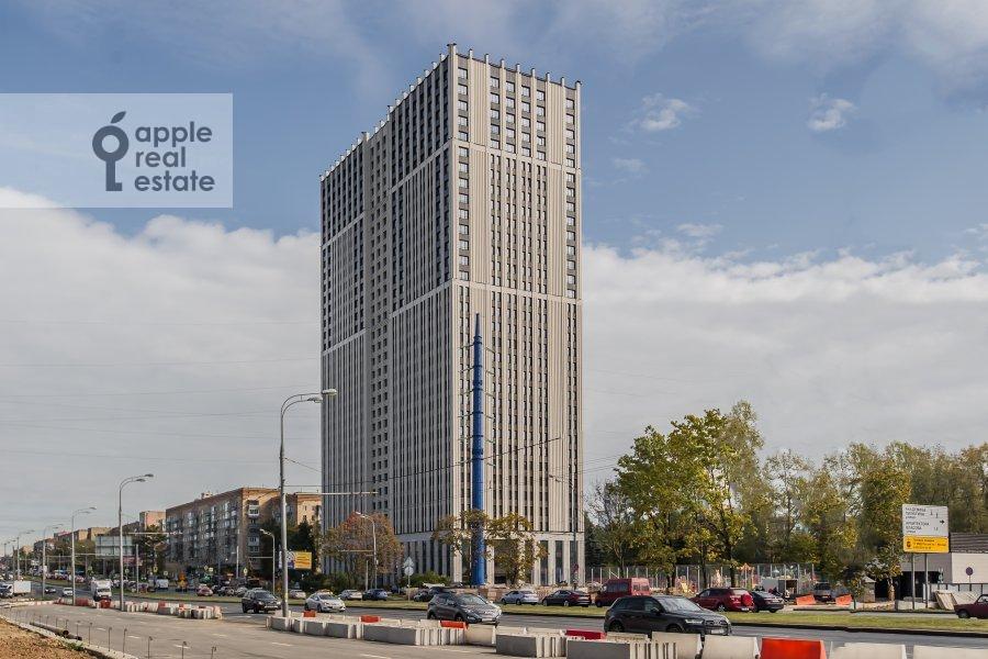 Photo of the house of the 4-room apartment at Leninskiy prospekt 95B
