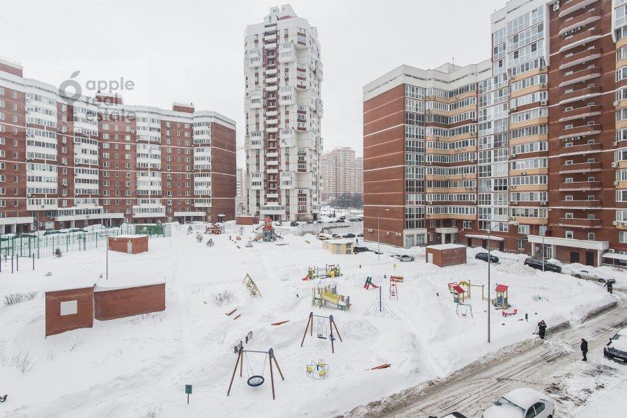 Вид из окна в 2-комнатной квартире по адресу улица Столетова 19