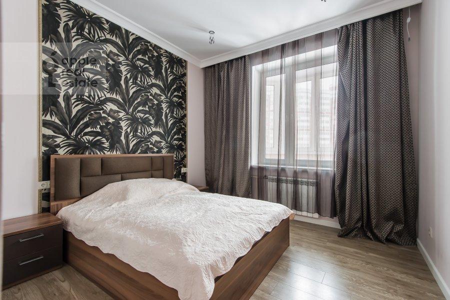 Спальня в 2-комнатной квартире по адресу улица Столетова 19
