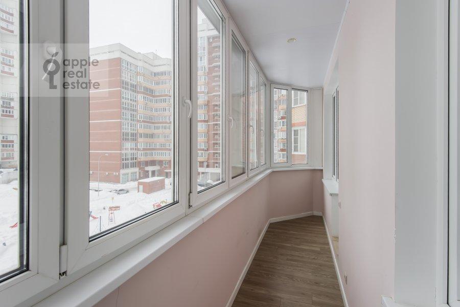 Балкон / Терраса / Лоджия в 2-комнатной квартире по адресу улица Столетова 19