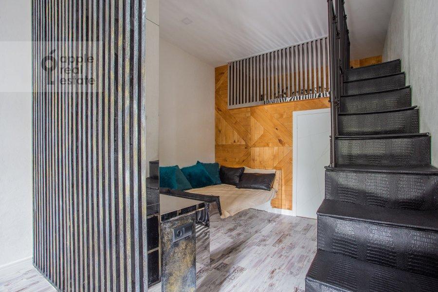 Спальня в 2-комнатной квартире по адресу Староконюшенный переулок 45