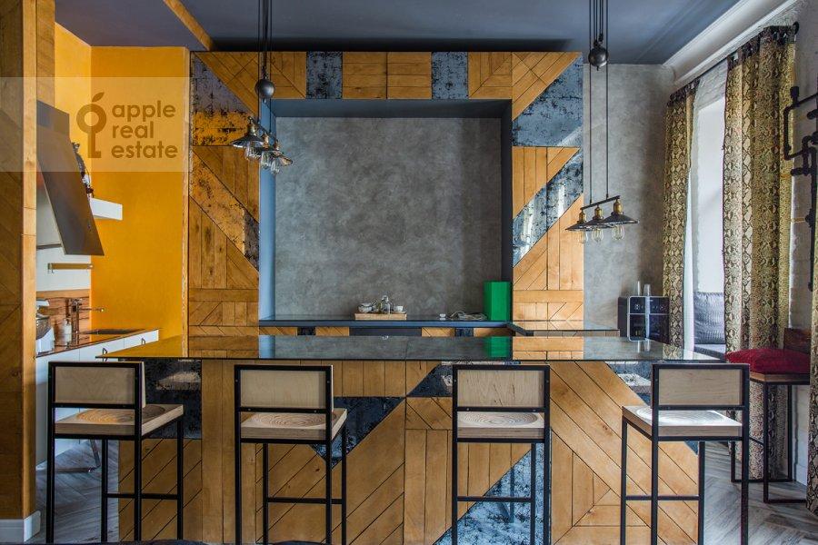 Kitchen of the 2-room apartment at Starokonyushennyy pereulok 45