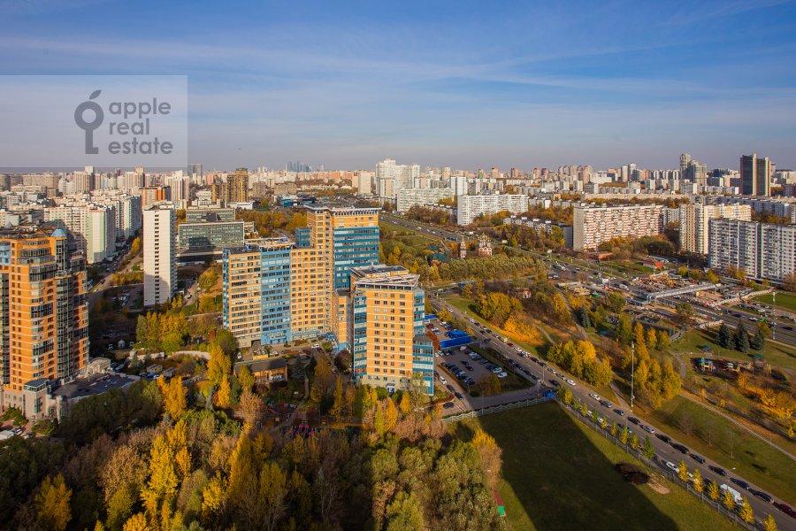 Вид из окна в 5-комнатной квартире по адресу проспект Вернадского 94к2