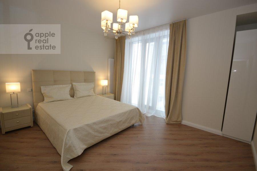 Bedroom of the 3-room apartment at Leningradskiy prospekt 36s30