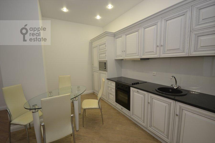 Kitchen of the 3-room apartment at Leningradskiy prospekt 36s30