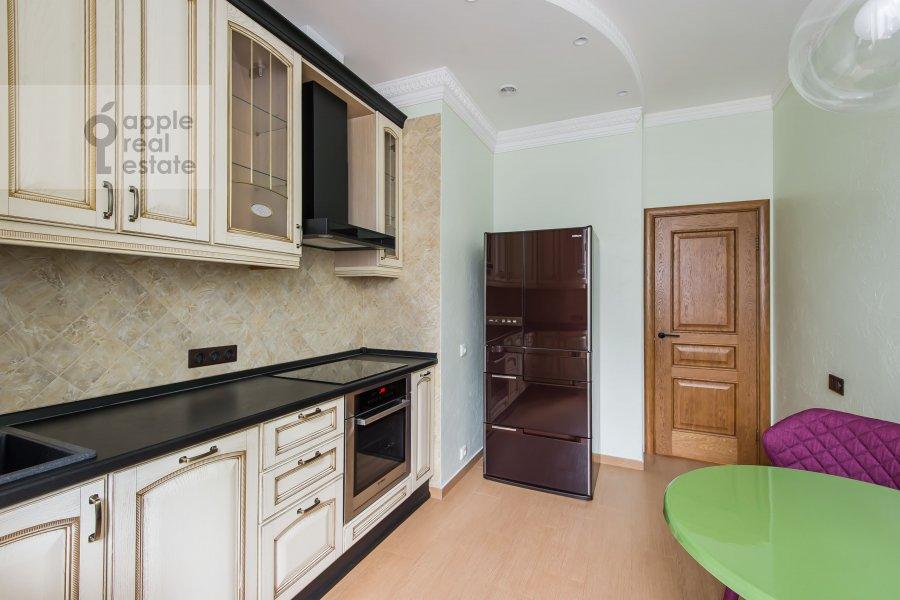 Кухня в 3-комнатной квартире по адресу Чистопрудный бульвар 9с1