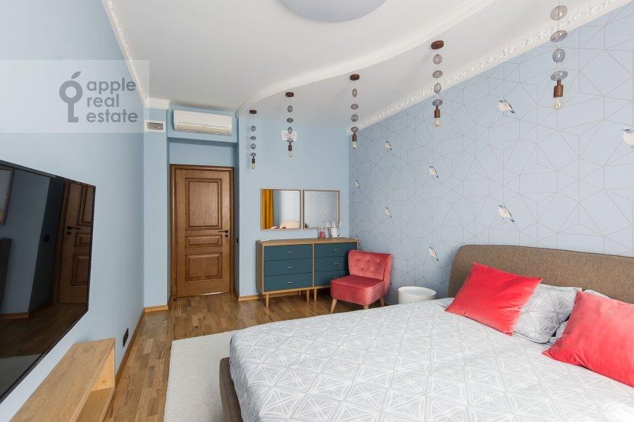 Спальня в 3-комнатной квартире по адресу Чистопрудный бульвар 9с1