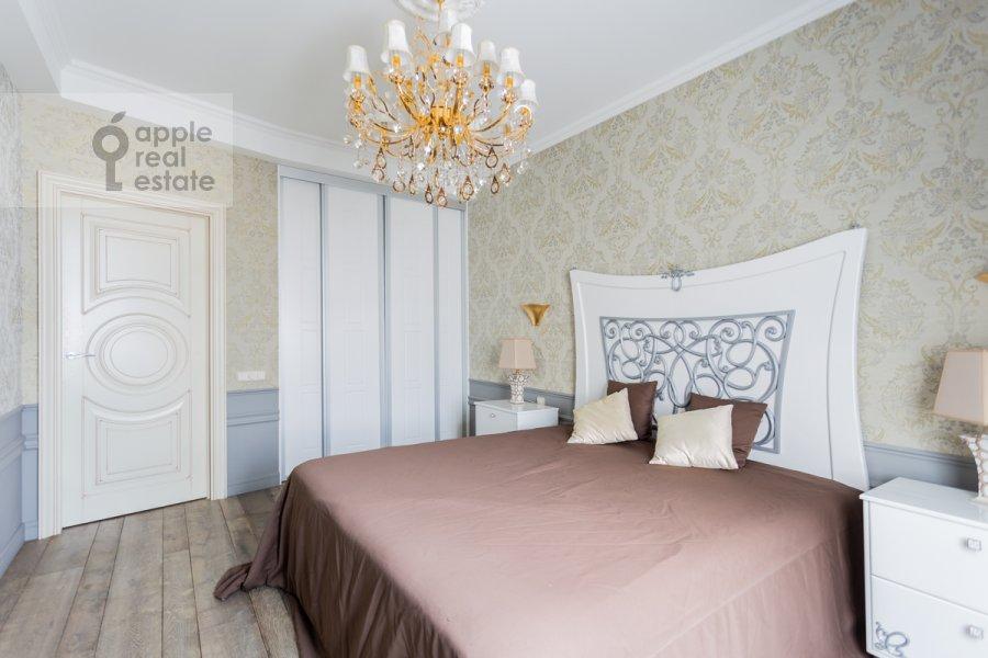 Спальня в 2-комнатной квартире по адресу Покровский бульвар 4/17с10