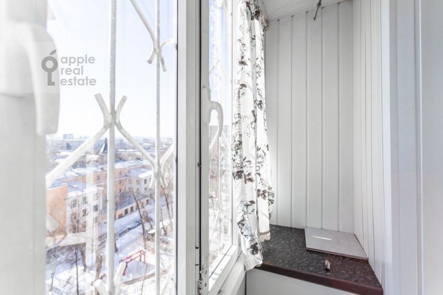 Балкон / Терраса / Лоджия в 3-комнатной квартире по адресу Новоспасский переулок 3к1