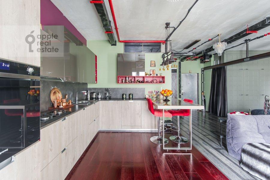Кухня в 1-комнатной квартире по адресу Большая Садовая улица 5к1